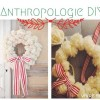 Anthropology Inspired DIY Holiday Wreath