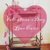 Valentine's Day Inspired Bar Cart